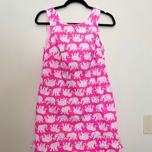 Lilly Pulitzer Tusk in sun shift dress